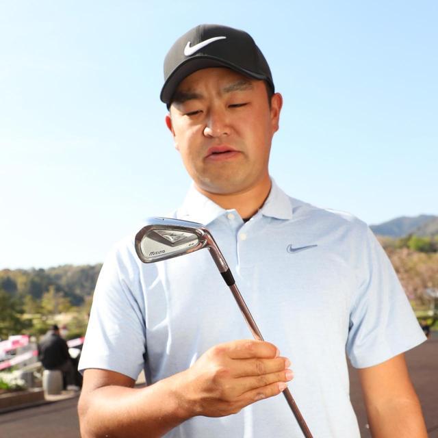 画像: 時松隆光 「小ぶりでも大ぶりでもないヘッド形状で、抜けがいいソールを選んでいます」
