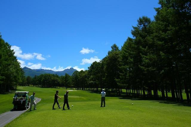 画像2: 普段より球が飛ぶのでご注意を。八ヶ岳・蓼科のおすすめゴルフ場