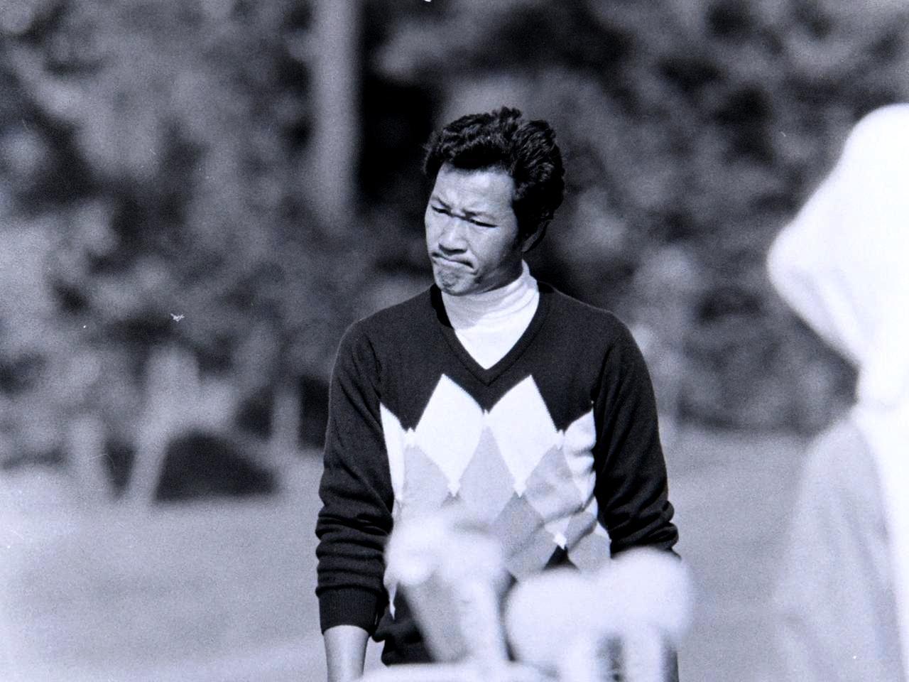画像: 2日目。前半は我慢のゴルフ