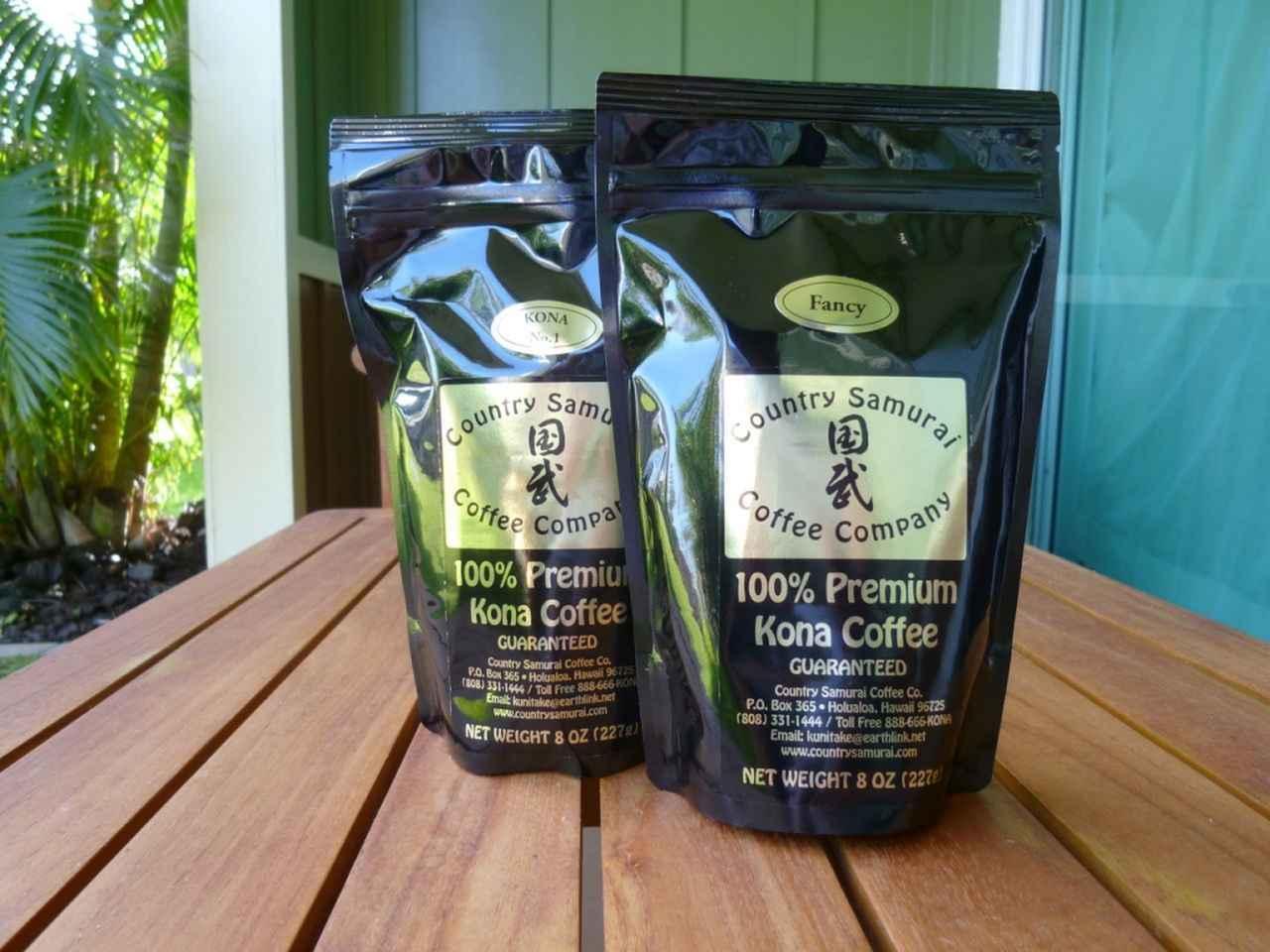 画像: ハワイ島土産の定番コナ・コーヒー
