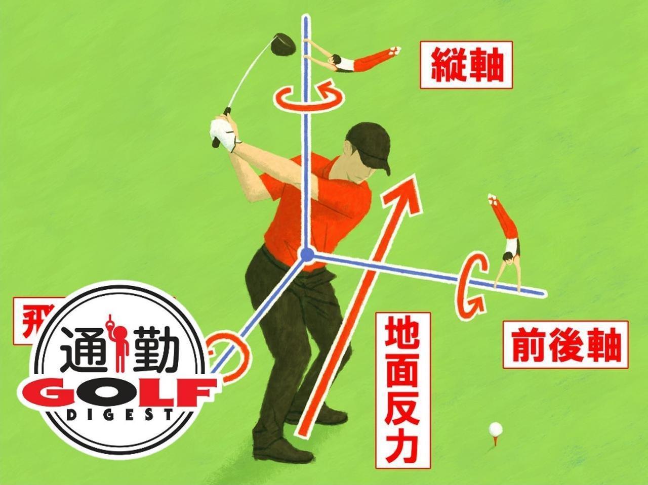 画像: 【通勤GD】Dr.クォンの反力打法 Vol.5 地面反力が生み出す 「3つ」の回転力 ゴルフダイジェストWEB - ゴルフへ行こうWEB by ゴルフダイジェスト