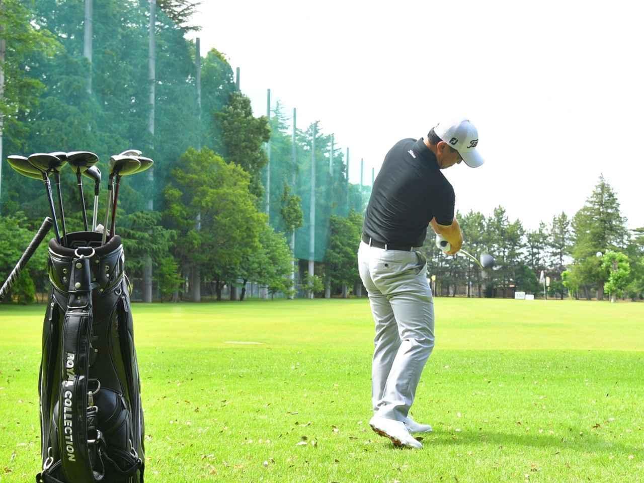 画像: 打って実感。「一般のゴルファーには3Wより5Wが断然おすすめ」(堀越)