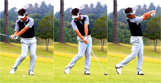 画像: 【フェアウェイウッド】目指すは厚い当たりのビッグキャリー。FWもアイアンのようにダウンブローで打つ! - ゴルフへ行こうWEB by ゴルフダイジェスト