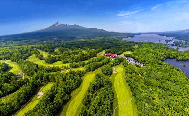 画像: 「北海道カントリークラブ」 大沼湖畔から駒ヶ岳の裾野に広がる36ホール