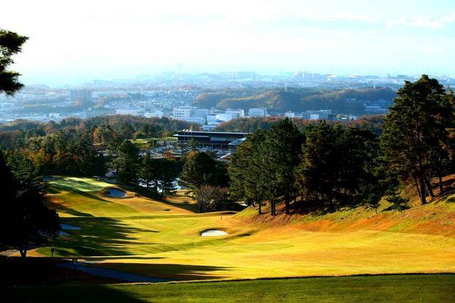 画像: 茨城国際ゴルフ倶楽部 北コース7番(404Y・P4)