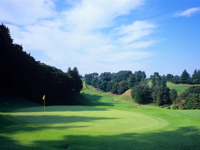 画像: 現在の東京国際ゴルフ倶楽部(18H・6615Y・P72)