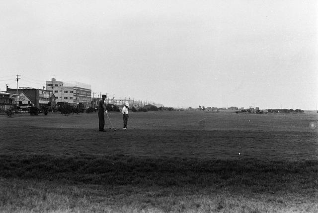 画像: 東雲ゴルフ場(1965年撮影)