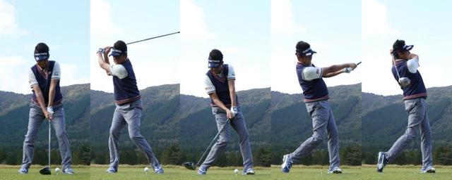 画像1: 飛ばすときは右軸、曲げたくないときはセンター軸