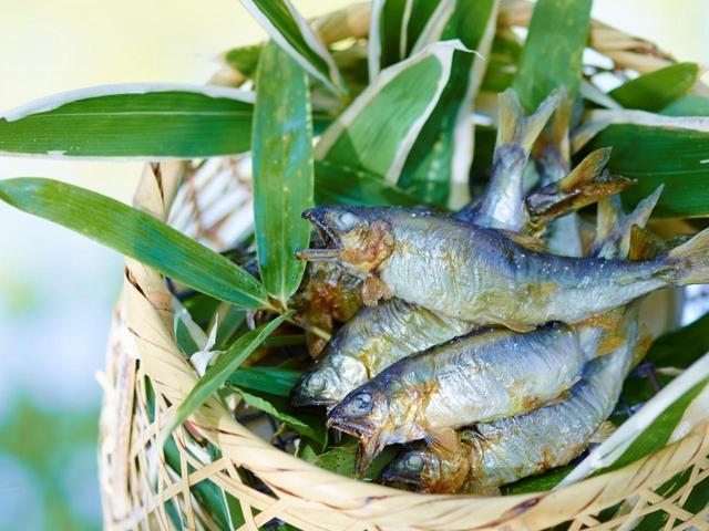 画像: 川魚など地の食材に舌つづみ