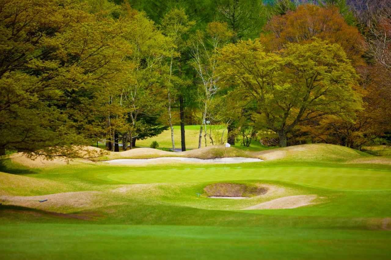 画像: 軽井沢ゴルフ発祥の地「旧軽井沢ゴルフクラブ」