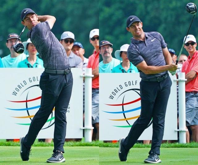 画像: ロリー・マキロイ 腕をしなやかに振る選手は、フィニッシュからクラブを振り戻す「リバウンド」が多く見られる