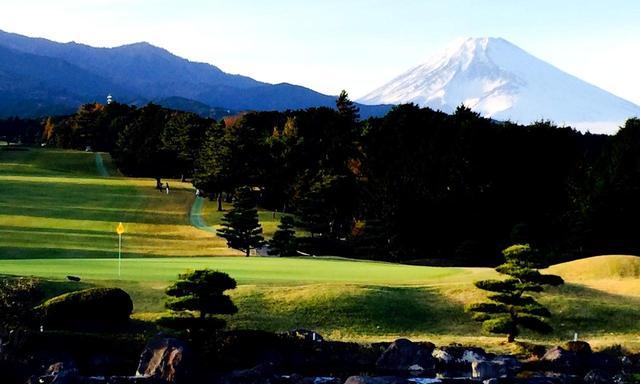 画像: 東名CC 富士山の眺めが美しい、裾野・桃園・愛鷹コースの27ホール(10352Y・P108)写真は愛鷹9番