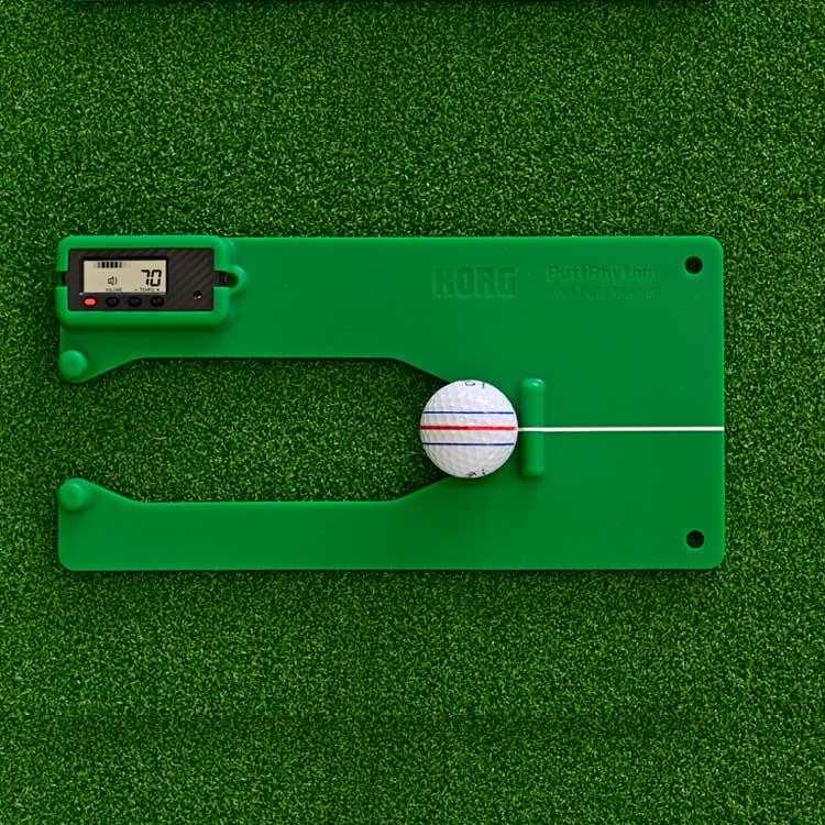 画像: KORG PuttRhythm (パットリズム)-ゴルフダイジェスト公式通販サイト「ゴルフポケット」