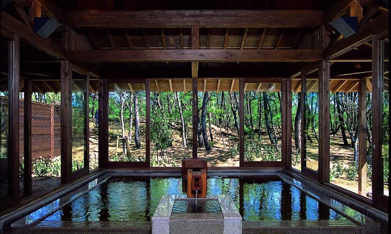 画像: シェラトングランデの温泉「月読」