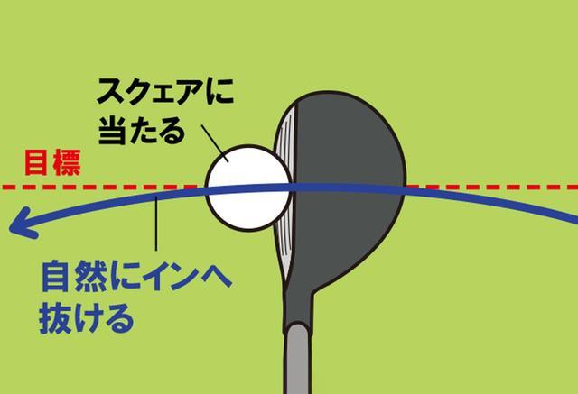 画像: 「やっぱり上手い人は反応が速いですね」と小林プロ。実際、2、3球打っただけで自然とインアウト軌道が修正され、球筋も安定するように