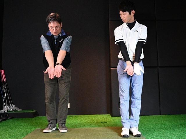画像: クォン教授と綿貫さん