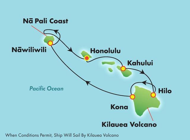 画像: ハワイ4島を一週間かけて周遊「プライド オブ アメリカ号」