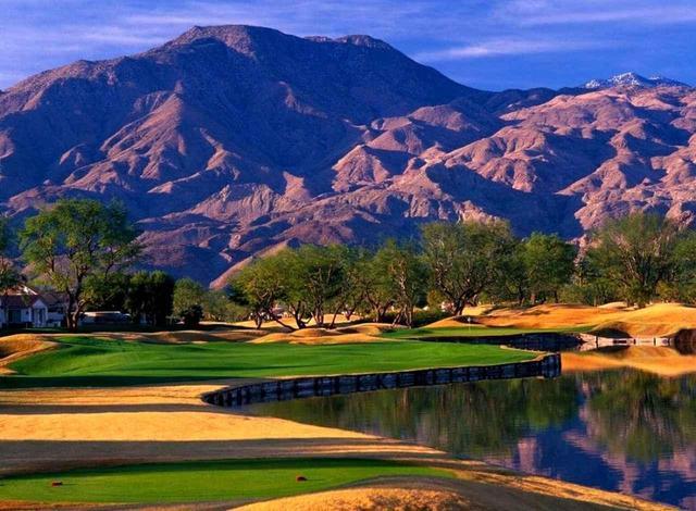 画像: ラキンタリゾート PGAウエスト スタジアムコース。設計はピート・ダイ