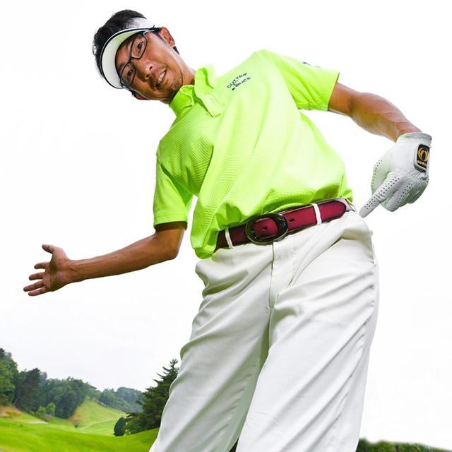 画像2: 【ドライバーでライン出し②】左足体重インパクトが低スピンフェードの掟! 狭いフェアウェイ狙い打ちで85を切る - ゴルフへ行こうWEB by ゴルフダイジェスト