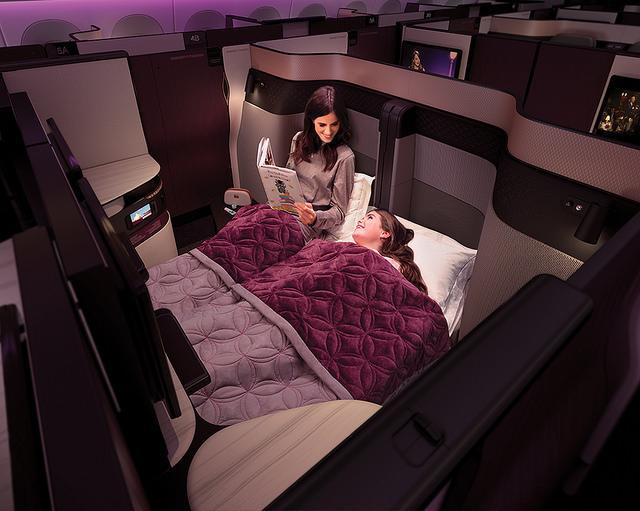 画像2: カタール航空 ビジネスクラス