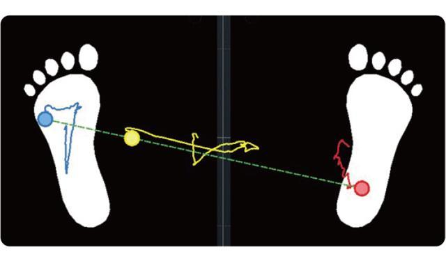 画像: トップで右かかとに体重を乗せると、楽に体を回転でき、その後の沈み込みもスムーズになる。フォローでは、左かかとに体重がかかる