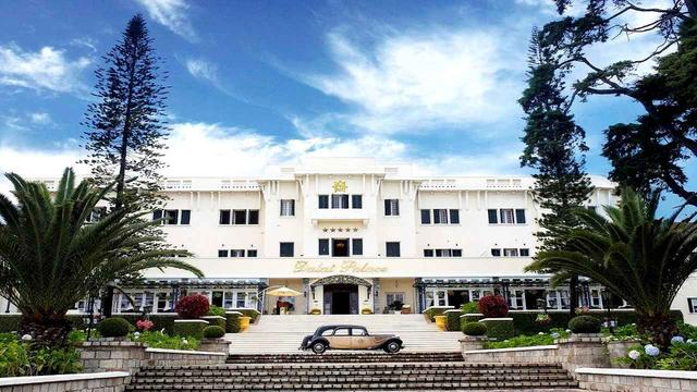 画像: 迎賓館を改造したダラットパレスホテル