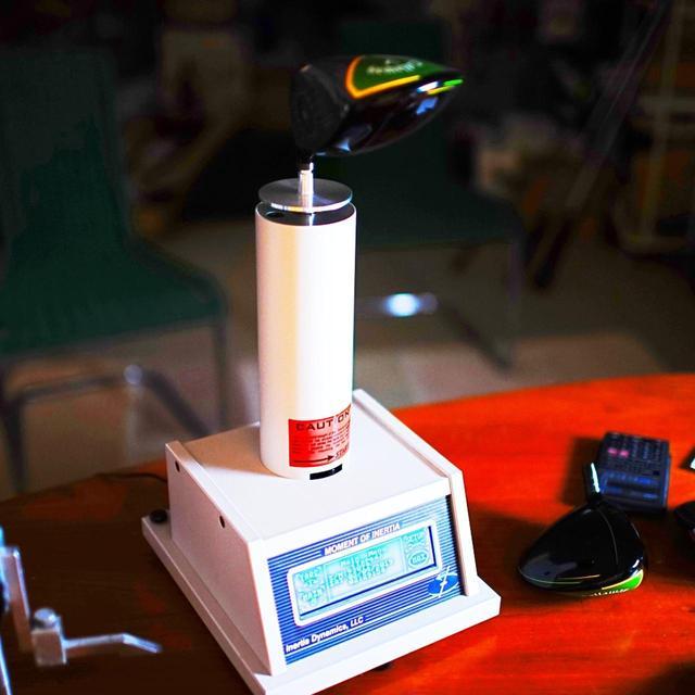 画像: これが慣性モーメント測定器