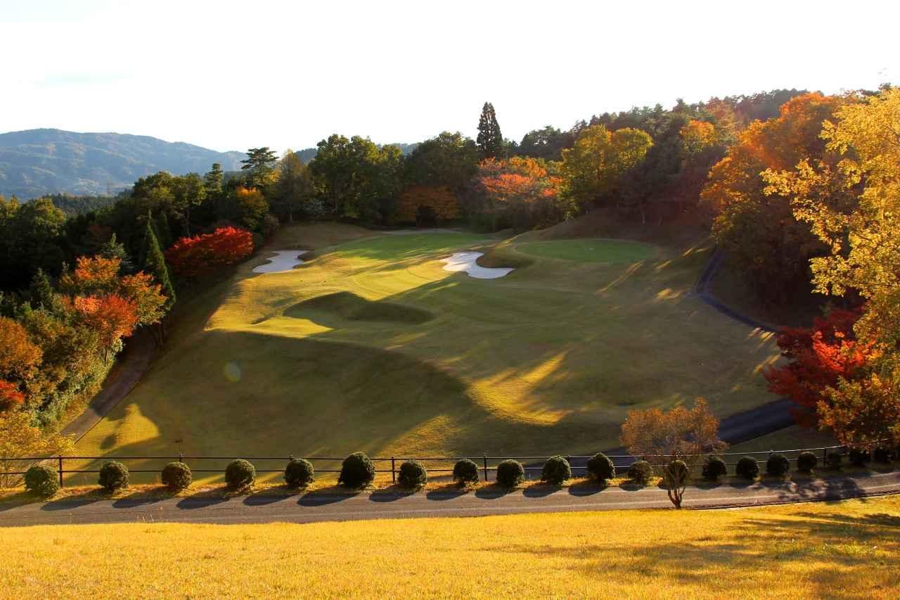 画像: 15番(208Y・P3)奈良の里山が一望できる風光明媚なホール