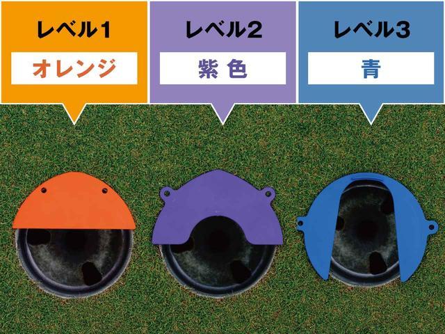 画像1: レベルによって使い分けられる4タイプ+1