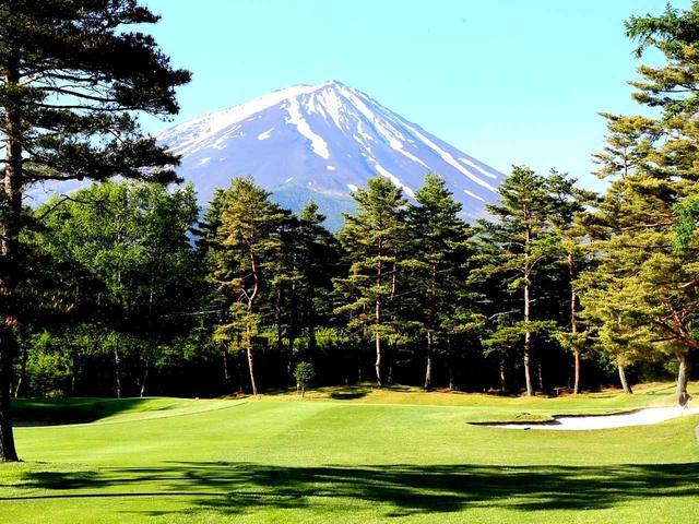 画像: グリーンを狙うときは「富士山レーダー」フル稼働