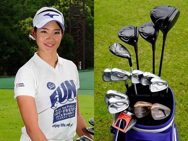 画像: 【原英莉花】 10 歳からゴルフを始め、2015年にジャンボ尾崎に弟子入り。2018年にステップ・アップ・ツアーで2勝を挙げ、プロテスト合格。2019年6月のリゾートトラストレディスでレギュラーツアー初優勝を飾った