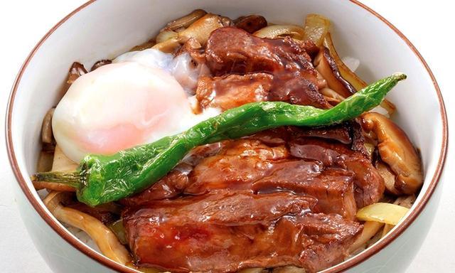 画像: 動産牛ステーキ丼
