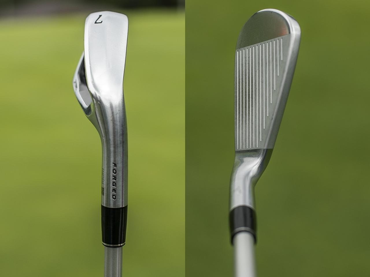 画像2: 「Z565」から「Z585」にスイッチ。「構えやすさと打感が好き。イメージと実際の弾道がマッチしているところもいい」