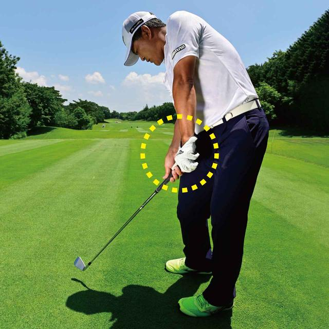 画像: Point.3 手元は常に体のそばから離れない
