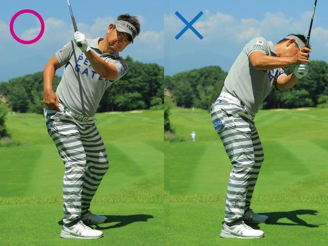 画像: Point.3 股関節にしっかりと体重を乗せて足を使う