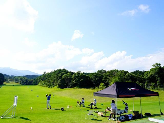 画像: 準々決勝の舞台は東名カントリークラブの練習場