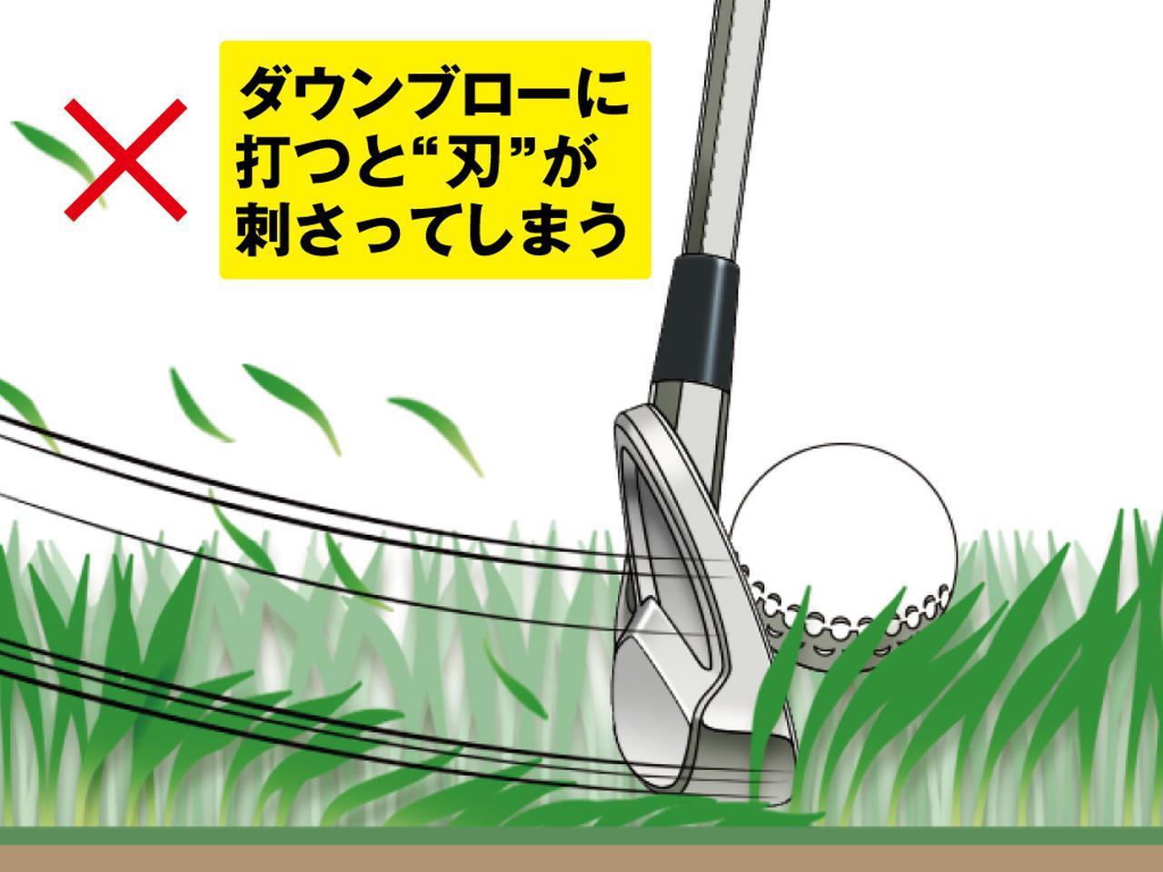画像2: 夏ラフは 「フェースを開きアッパーに打つ」 が正解!
