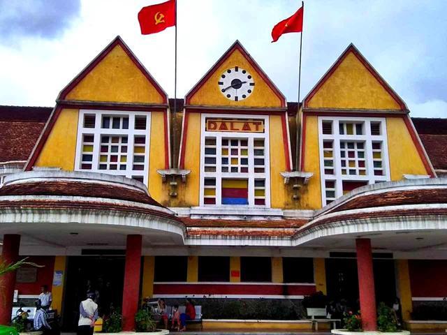 画像: ベトナムで一番美しいといわれるダラット駅