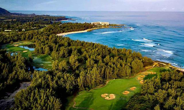 画像: タートルベイゴルフ A・パーマーコース 海沿いの森の中にある美しいゴルフ場
