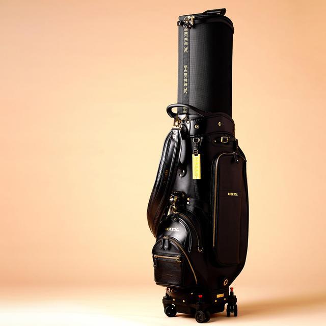 画像: キャスター&ハードフードの多機能トラベルキャディバッグ
