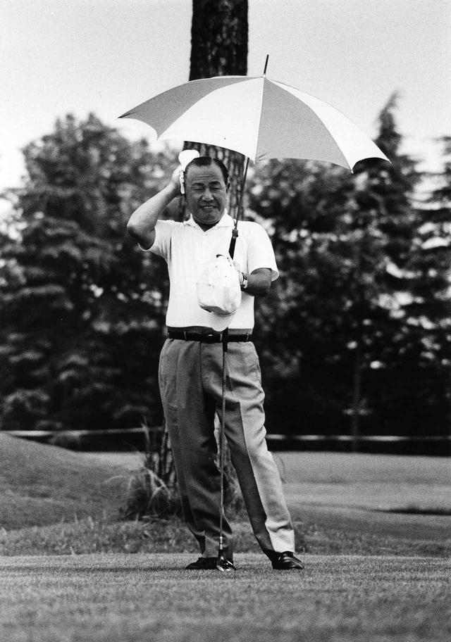 画像: 田中角栄。1918年生まれ、1981年当時63歳