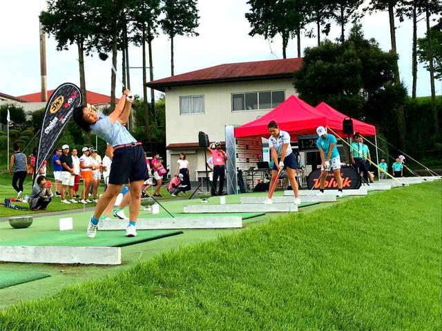 画像: 女子優勝は天野真理奈さん、260ヤード