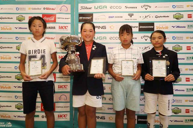 画像: 10-11歳の部 女子 優勝 根田うのさん