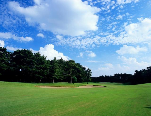 画像: 茨城GC。上田治設計の東西コース36ホール。