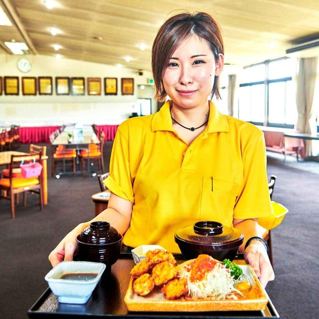 画像: 渋野プロが大好物な「鳥カラ定食」。この「鳥カラ」と「オムライス」をセットにしたメニュー「シブコランチ」が9月から登場予定
