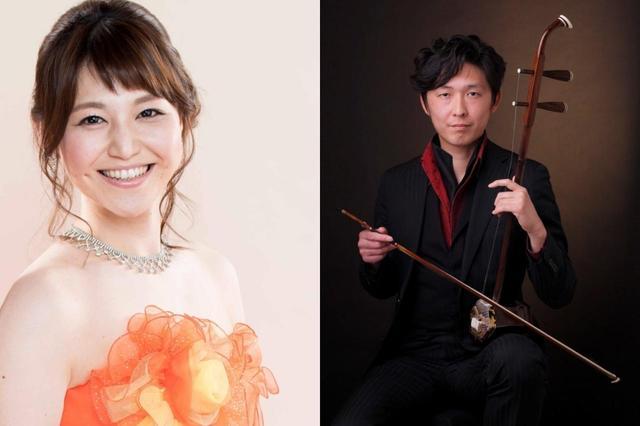 画像: ソプラノ歌手の本田ゆりこさん(左)、二胡奏者の木場さん(右)など、さまざまなアーティストが出演