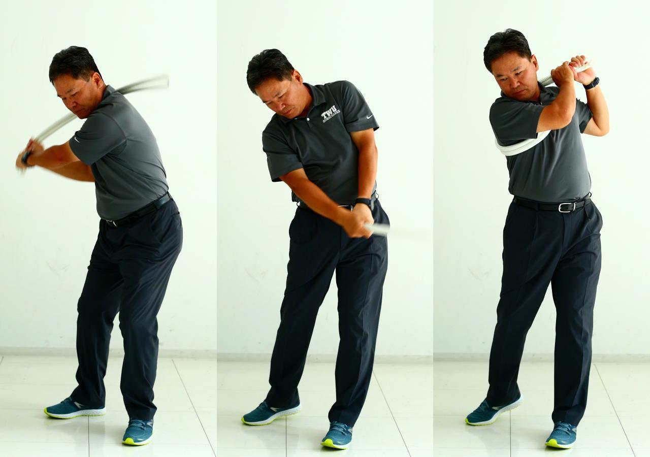 画像2: 【通勤GD】Dr.クォンの反力打法 Vol.23  一家に1本! 素振りロープ!  ゴルフダイジェストWEB