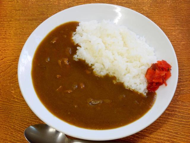 画像: カレーライス(650円)