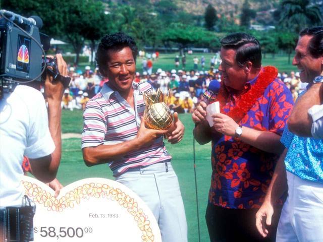 画像: 1983年ハワイアンオープンで優勝を遂げた青木功