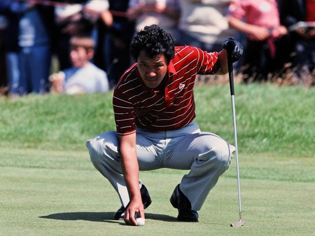 画像: 1982年全英オープンでの青木功。海外に積極的に参戦し1983年にはハワイアンオープンで優勝を遂げた